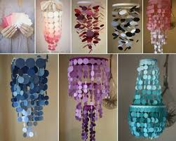 how to build a gorgeous diy chandelier with paint swatches step by step tutorial instructions