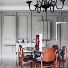 vintage italian barcelona style dining. The Three-dimensional Panelled Walls Of This Dining Room \u2013 Owned By Italian  Fashion Designer Vintage Italian Barcelona Style