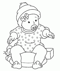 1000 plus free coloring pages for kids including disney movie coloring pictures and kids favorite cartoon characters. Coloring Page Baby Coloring Home