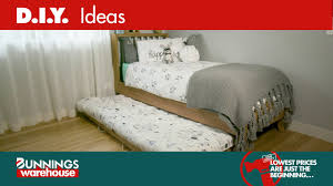 how to make a trundle bed on wheels d i y at bunnings