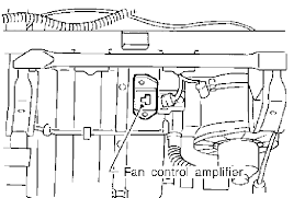 where is the blower motor resistor on a nissan pathfinder se the above diagrams are for unit manual ac heater controls if yours has automatic ac heater control unit then it doesnt have a resistor