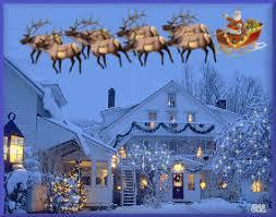 animated Christmas Sleigh rides | Santa Santas Sleigh Merry ...