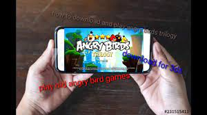 under 250mb]DOWNLOAD ANGRY BIRDS TRILOGY FOR ANDROID |PLAY Angry birds old  games on Android