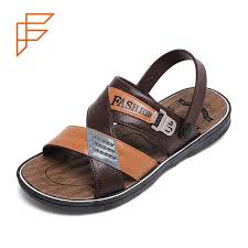 Topsion New Products in 2019 Leather <b>Men EVA Summer Sandals</b>