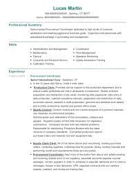 Purchasing Resumes Best Procurement Coordinator Resumes ResumeHelp 51