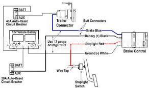 wiring diagram for brake controllers Electric Trailer Breakaway Wiring Diagram