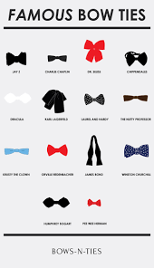 Celebrity Bow Ties Visual Ly