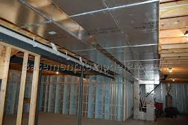 framing basement ceiling for drywall best basement ideas