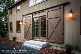 barn style front doorGrantham Lakehouse  Traditional exterior Barn doors and Barn