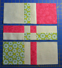 Chock-A-Block Quilt Blocks: Disappearing 4-Patch & Disappearing 4-Patch Adamdwight.com