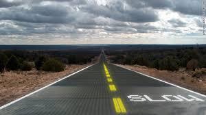 Estimate Asphalt Road Construction Cost Per Mile Solar Powered Smart Roads Could Zap Snow Ice