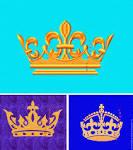 Дизайн для вышивки корона