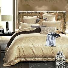 gold duvet cover black