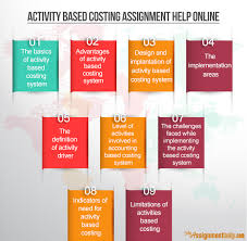 expert help for activity based accounting assignments activity based costing assignment help online