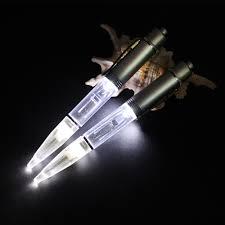 Light Up Pen Refills Us 6 39 20 Off Metal Led Light Ballpoint Pen Led Glow Light Up Pen Metal Material Light Ballpoint Pen With Extra Refill And Batteries In Ballpoint