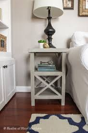End table decor Rustic Bedroom End Table Decor Simple Gray Tall Nightstand Bedside Table Ideas How To Make Build Decaminoinfo Bedroom End Table Decor Simple Gray Tall Nightstand Bedside Table