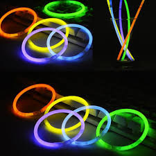 glow in the dark lighting. PartySticks Brand Premium Glow In The Dark Light Sticks - Makes Tons Of  Necklaces And Glow In The Dark Lighting