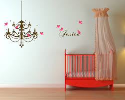 chandelier with customized name