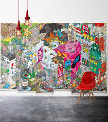 Tokyo Wall Mural | Wallpaper Republic