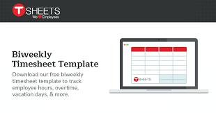 Excel Biweekly Payroll Template Blank Bi Weekly Employee Overtime