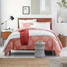 Mid Century Bedroom Furniture Mid Century Bed Acorn West Elm Uk