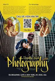 Free Photography Flyer Templates Psd By Elegantflyer