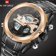 online get cheap gold digital watch aliexpress com alibaba group 2017 new mens watches top brand luxury stainless steel gold dial analog digital quartz men watch