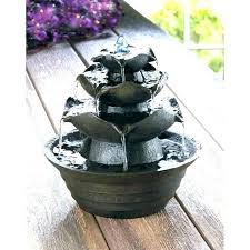 best home cool outdoor tabletop fountain in zen cairn rock towers indoor water fountains from