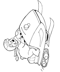 Small Picture Polar Bear Coloring Page on Skidoo