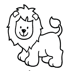 Baby Zoo Animals Coloring Pages Easy Zoo Animal Coloring Pages