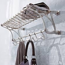 Train Coat Rack Garderobe in nostalgischem Stil in natursilber bei IMPRESSIONEN 6