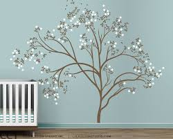 large tree wall decals large wall tree decal forest kids vinyl