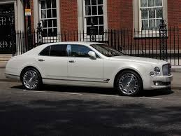 bentley mulsanne white. the pearl white bentley mulsanne 2013 is a fantastic wedding car available on self drive e