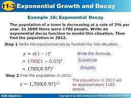 growth and decay math example exponential decay graphing growth and decay functions
