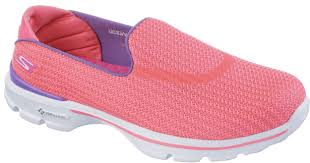 skechers shoes go walk. skechers womens go walk 3 shoes pink/purple