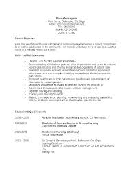 Good Career Objective Resume