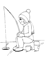 Small Picture Coloring Pages Of Fishing Coloring Home