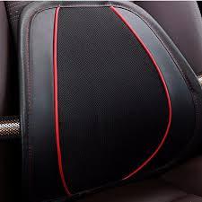 Lumbar <b>KKYSYELVA</b> Black Lumbar For Office <b>Chair Car</b> Covers ...