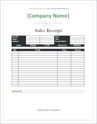 Receipt Templates Free Word Template Microsoft Contractor Invoice