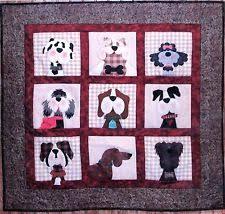 Dog Quilt Patterns New Applique Quilt Patterns EBay