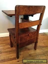 antique school desk chair. Wonderful Antique School Desk And Chair Antique Rare  Wood Metal Mission  Vintage  With Antique School Desk Chair