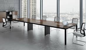 Best Modern Office Furniture Cool Boss's Cabin Berlin Conference Table In Walnut Finish Modern