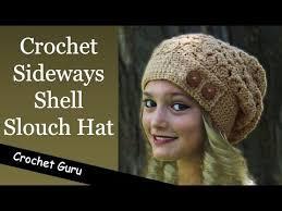 Slouch Hat Crochet Pattern Custom How To Crochet A Slouchy Hat Sideways Shell Slouch Hat Pattern