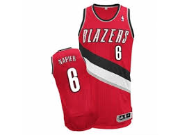 Cheap Sale Mens Portland Trail Blazers 6 Shabazz Napier