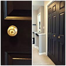 Updating Closet Doors Focal Point Styling How To Paint Interior Doors Black Update