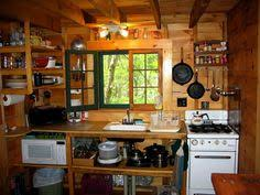 Exellent Small Cabin Kitchen Design Love This Tight Might Be What Throughout Decorating