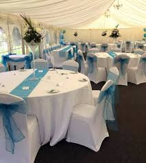 chair cover hire kent turquoise wedding set up chair cover hire kent weddings