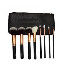 8 piece clic makeup brush set