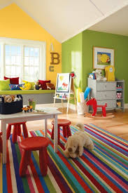 Paint Ideas for a Perfect Playroom