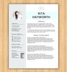 Microsoft Word Resume Templates Free Free Resume Template Microsoft